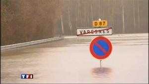 Inondation Varesnes inondé en 2011