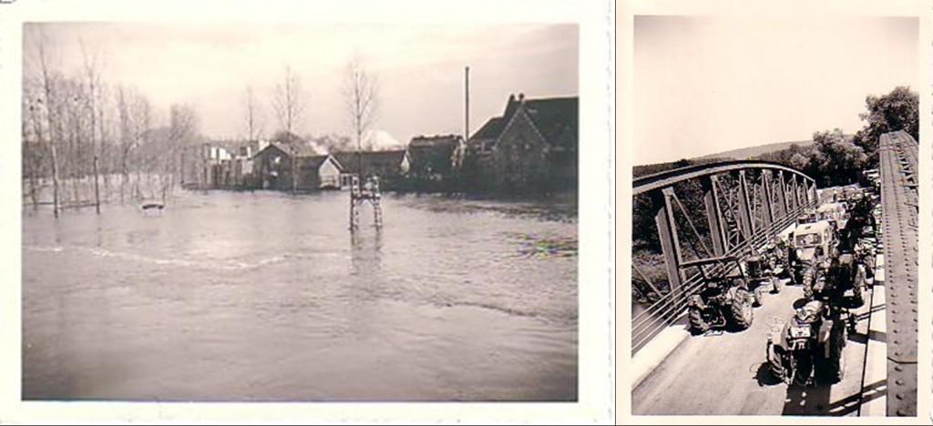 crue et barrage inondation varesnes pontoise oise