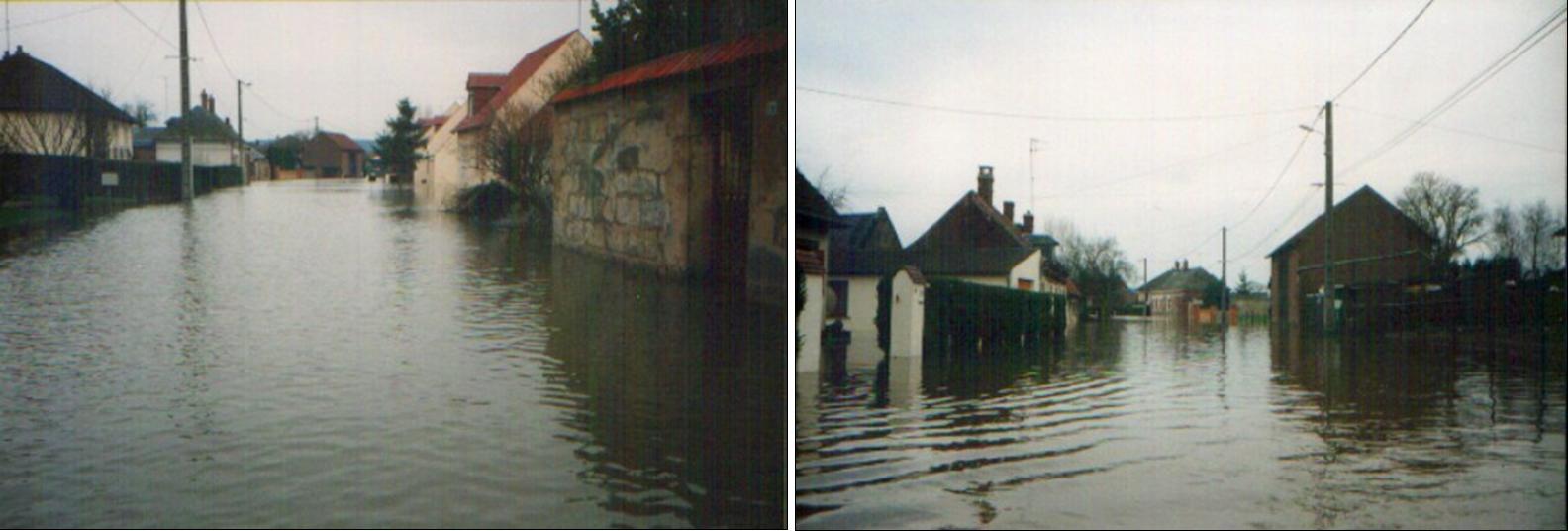 M. le préfet : Inondation rue des Hurteaux Varesnes