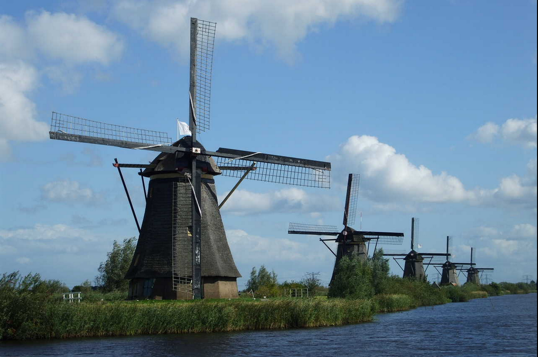 Les moulins Hollandais solution anti-inondation