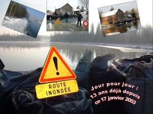 Varesnes inondations oise  Il y a 13 ans …