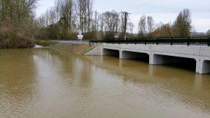 Crues Oise Varesnes : Nouvelles du pont
